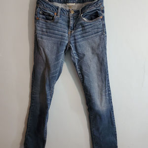 American Eagle Outfitters  Acid  wash  Blue Jeans